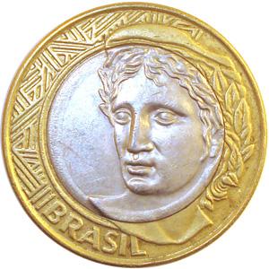 brasil 1 real coin