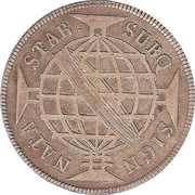 640 Réis - Maria I & Pedro III -  reverse