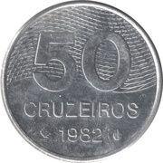 50 Cruzeiros – reverse