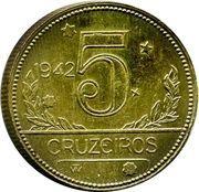 5 Cruzeiros – reverse