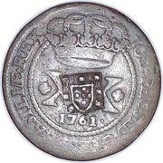 40 Réis - José I (Countermarked 20 Réis) – obverse