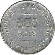500 Réis -  reverse