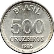 500 Cruzeiros -  reverse