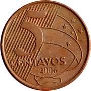 5 Centavos (Tiradentes) -  reverse