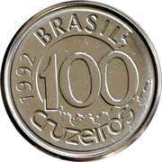 100 Cruzeiros -  reverse