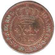 40 Réis - João, Prince Regent (2 Vinténs) – obverse