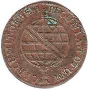 40 Réis - João, Prince Regent (2 Vinténs) – reverse