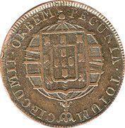 40 Réis - João VI – reverse