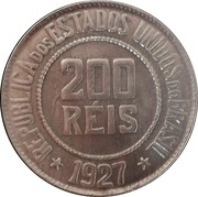 200 Réis -  reverse