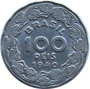 100 Réis -  reverse