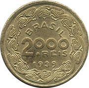 2000 Réis (Floriano Peixoto) -  reverse