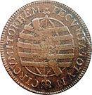 10 Réis - José I (Brazil Mint) – reverse