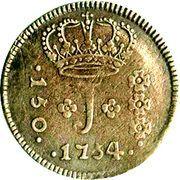 150 Réis - José I – obverse