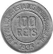 100 Réis -  obverse