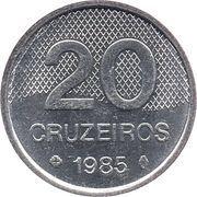 20 Cruzeiros -  reverse