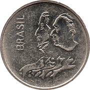1 Cruzeiro (150th Anniversary of Independence) -  obverse