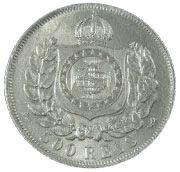 500 Réis - Pedro II – reverse