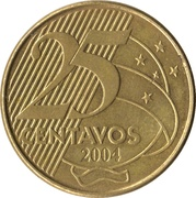 25 Centavos - Deodoro da Fonseca -  reverse