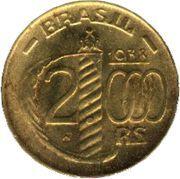 2000 Réis (24-sided planchet) -  reverse