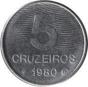 5 Cruzeiros -  reverse