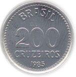 200 Cruzeiros – reverse