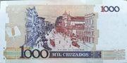 1 Cruzado Novo (overprint on 1 000 Cruzados i.e. P# 213) – reverse