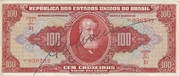 100 Cruzeiros (1st edition; 2nd print; Autographed) – obverse