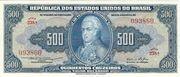 500 Cruzeiros (1 edition; 1st print; Valor Recebido) -  obverse