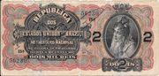 2 Mil Réis (Thesouro Nacional; 11th print) – obverse