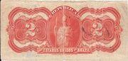 2 Mil Réis (Thesouro Nacional; 11th print) – reverse
