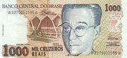 1 000 Cruzeiros Reais -  obverse