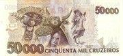 50 000 Cruzeiros (3rd edition) – reverse