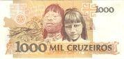 1 000 Cruzeiros (3rd edition) -  reverse