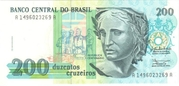 200 Cruzeiros (3rd edition) – obverse
