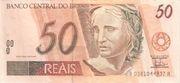 50 Reais (1st family) -  obverse