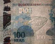 100 Reais (2nd family) -  obverse