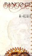 50 Cruzados (overprint on 50 000 Cruzeiros i.e. P# 204) -  obverse