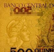 500 Cruzeiros (3rd edition) -  obverse