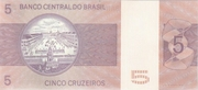 5 Cruzeiros (2nd edition; 1st family) -  reverse