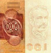 100 Cruzeiros (2nd edition; 1st family; 1st type) -  obverse