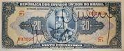 20 Cruzeiros (1st edition; 1st print; Autographed) -  obverse