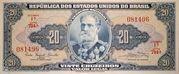 20 Cruzeiros (1st edition; 1st print; Valor Legal) -  obverse