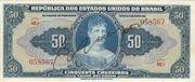 50 Cruzeiros (1 edition; 1st print; Autographed) – obverse