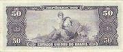 50 Cruzeiros (1 edition; 1st print; Autographed) – reverse