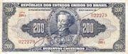 200 Cruzeiros (1st edition; 1st print; Autographed) -  obverse