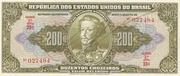 200 Cruzeiros (1st edition; 2nd print; Autographed) -  obverse