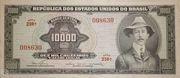 10 000 Cruzeiros (1st edition; 1st print) – obverse