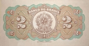 2 Mil Réis (Banco do Brasil; 1st print) – reverse