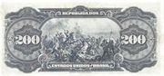 200 Mil Réis (Caixa de Estabilização; 1st print) – reverse