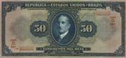 50 Mil Réis (Thesouro Nacional; 16th print) -  obverse